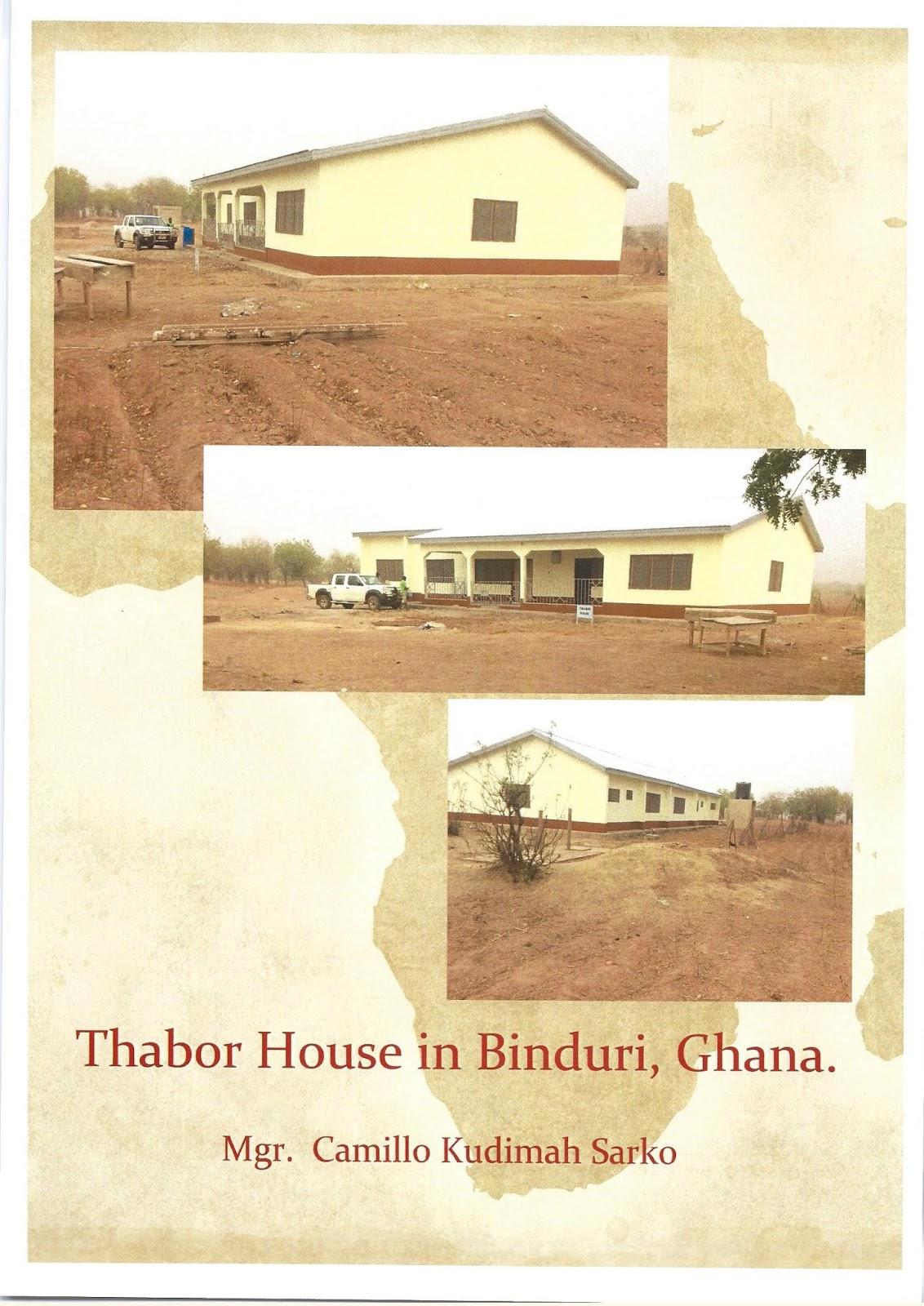 Priorij Thabor Greetings From Ghana Verzoek Om Een Gift Voor Ghana