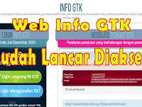 Kabar Baik, Website Info GTK Kemdikbud Sudah Mulai Lancar