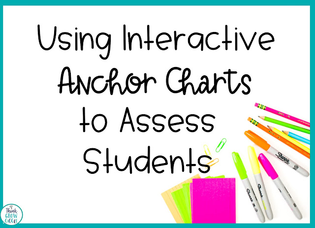 Using Interactive Anchor Charts to Assess Students
