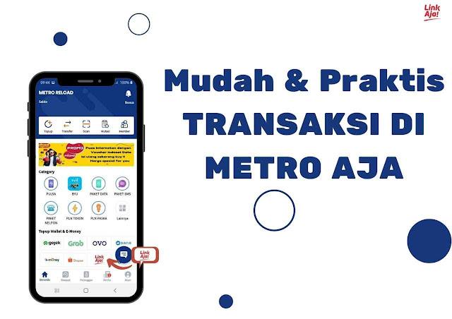 Format Transaksi Metro Reload Pulsa