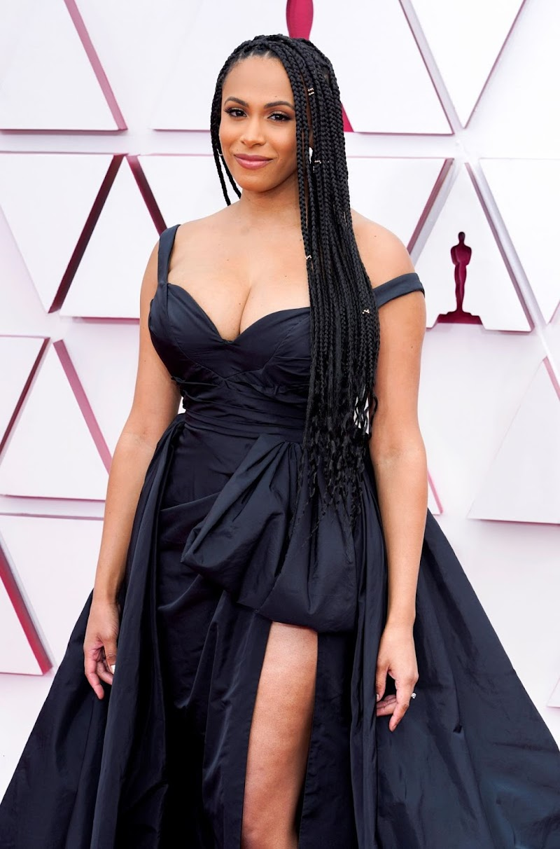 Nicolette Robinson Clicks at 93rd Annual Academy Awards in Los Angeles 25 Apr-2021