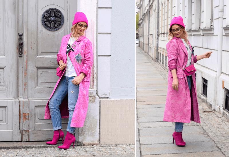 pink-kombinieren-mantel-brokat