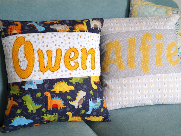 Some new PJ Name Pillows