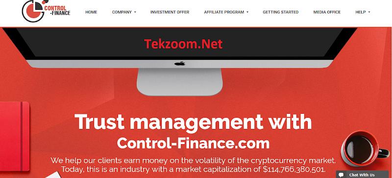[SCAM] Review Control-Finance : Lãi up 1.5% hằng ngày mãi mãi - Đầu tư tối thiểu 10$ - Thanh toán instant