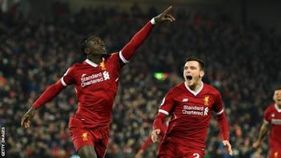 Laga Klasik Liverpool vs Manchester City (4-3), 14 Januari 2018