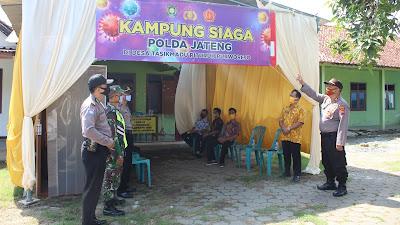 """Desa Tasikmadu Canangkan Sebagai Kampung Siaga Covid-19 """"Polda Jateng"""""""