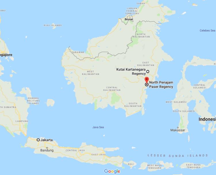 Kutai Kartanegara Penajam Paser Utara Jakarta