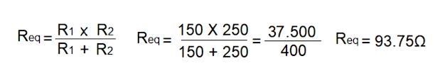 Fig. 5 - Formula resistência equivalente