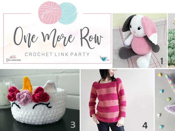 One More Row - Crochet Link Party #2