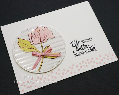 Heart's Delight Cards, Petal Palette, Sale-A-Bration Second Release 2018, Stampin' Up!