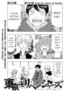 Read Tokyo Revengers Manga Chapter 192 English