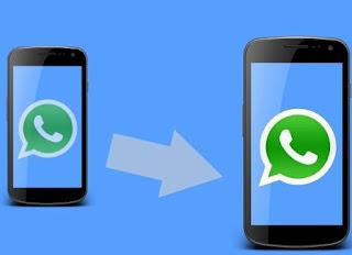 spostare whatsapp