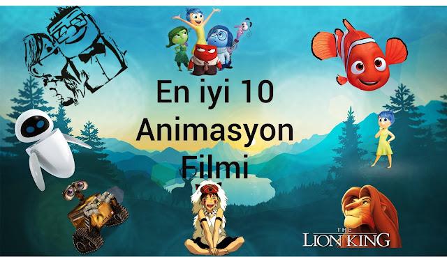 En Iyi Animasyon Filmlerinden Seçmeler Animasyon Filmleri Listesi