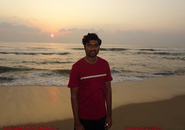 Chennai Besant Nagar Beach