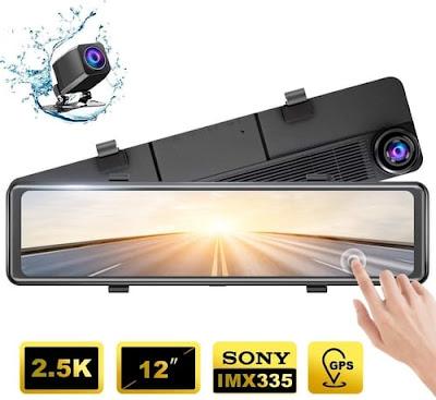 AKASO DL12 ultra HD Mirror Dash