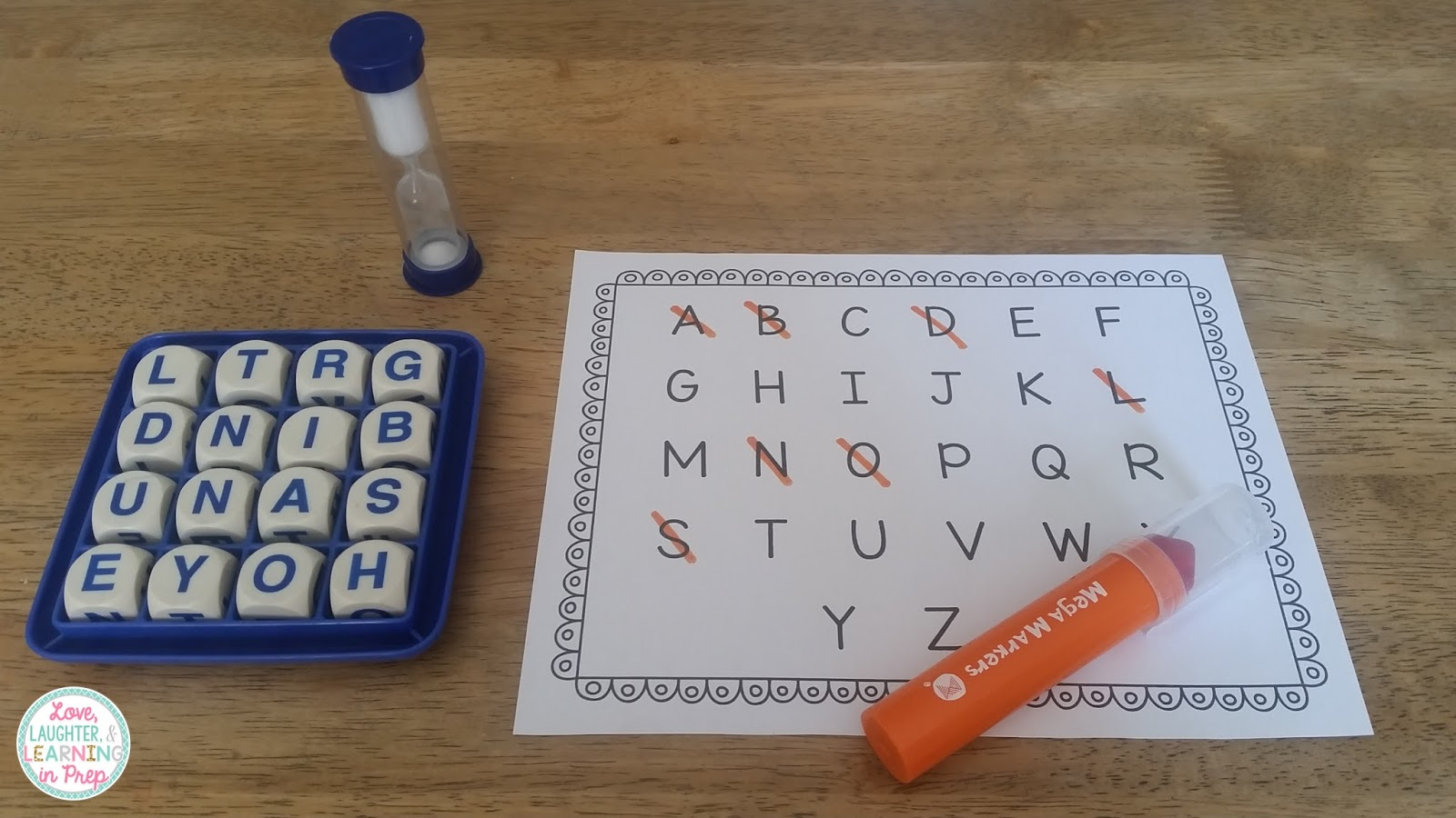Love Laughter And Learning In Prep Board Games In The