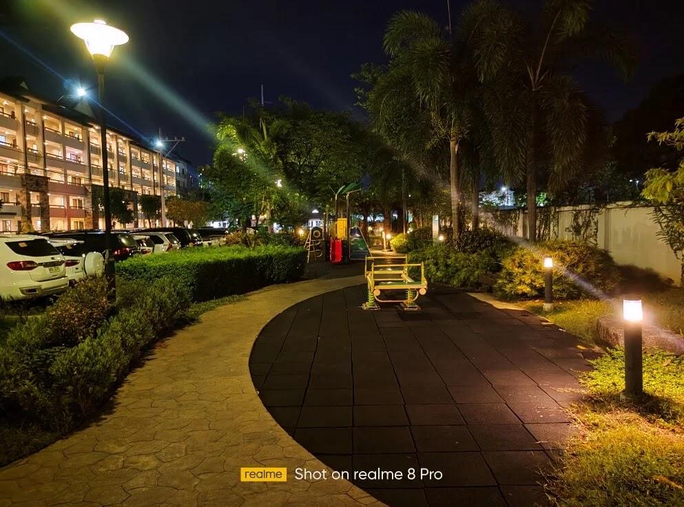 realme 8 Pro Camera Sample - Night, Playground