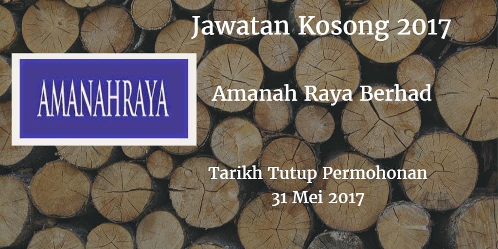 Jawatan Kosong ARB 31 Mei 2017