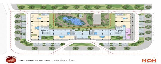 Quy hoạch tổng thể dự án Anland Nam Cường