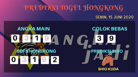 Prediksi HK Malam ini 15 Juni 2020 - Bocoran HK