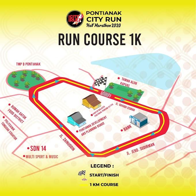 Pontianak City Run Half Marathon 2020 Akan Digelar Bulan Februari