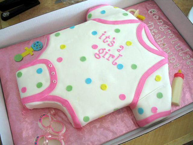 Onesie Baby Shower Cake Cake Magazine