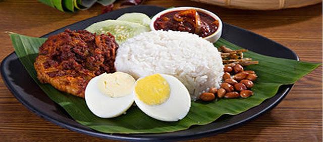 Nasi Lemak - Malaysia