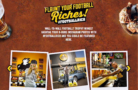 Robb Long for National Buffalo Wild Wings Campaign