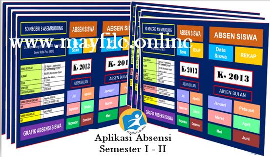 Aplikasi Absen Siswa Semester 1 Dan 2 Versi Terkini
