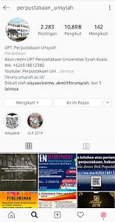 Instagram Unsyiah Aceh