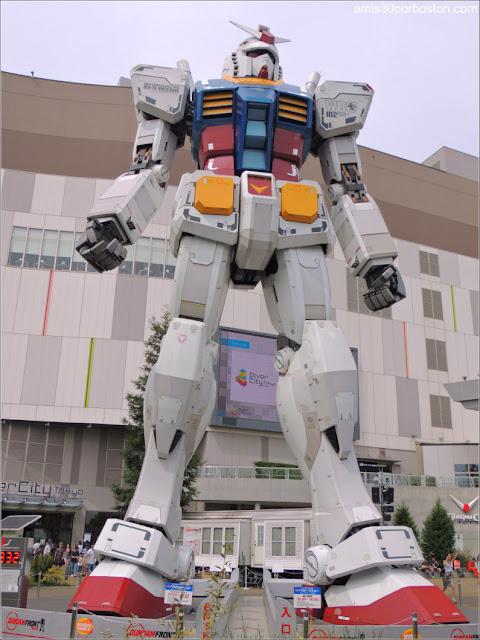 Gundam RX-78-2 en Odaiba, Tokio