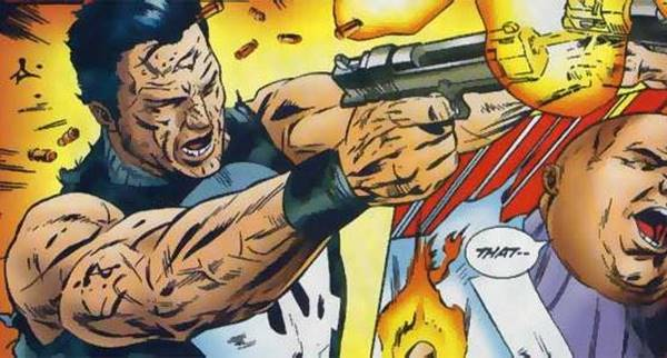 punisher membantai marvel superhero