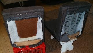 tapicerowanie krzesła aga krok po kroku