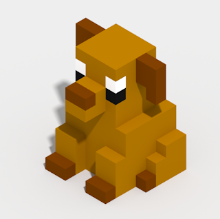 Voxels are 3D cubes positioned inside of 3D grid that make up a model.