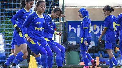Tim Sepakbola Putri Jabar Siap Berlaga di PON Papua