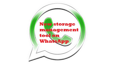 New storage management tool on WhatsApp