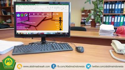 Aplikasi Kisi-Kisi Soal dan Analisis (AKSAN) Penilaian K13 MI/SD