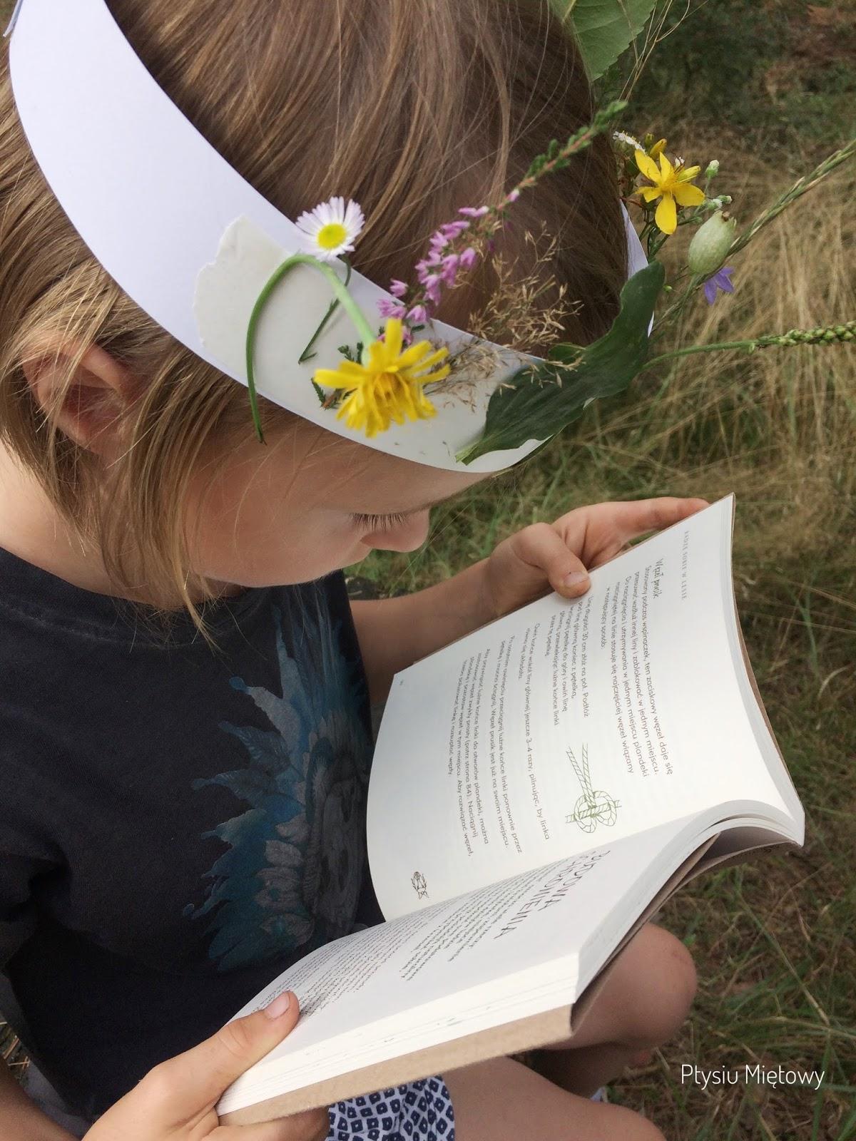 ptysiu mietowy, lesna szkola dla kazdego, wydawnictwo muza, recenzja
