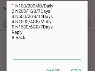 Airtel 1gb for 200, weekly 4gb for 1000 monthly data plans