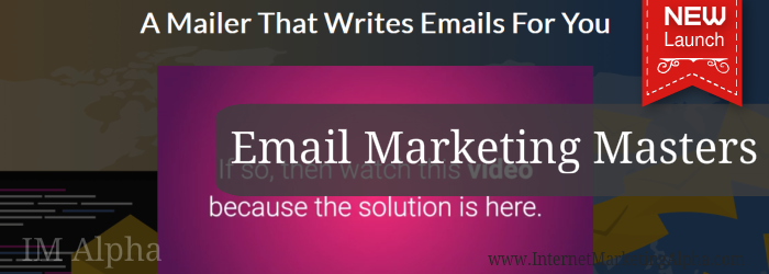 A mailer that writes emails for you!