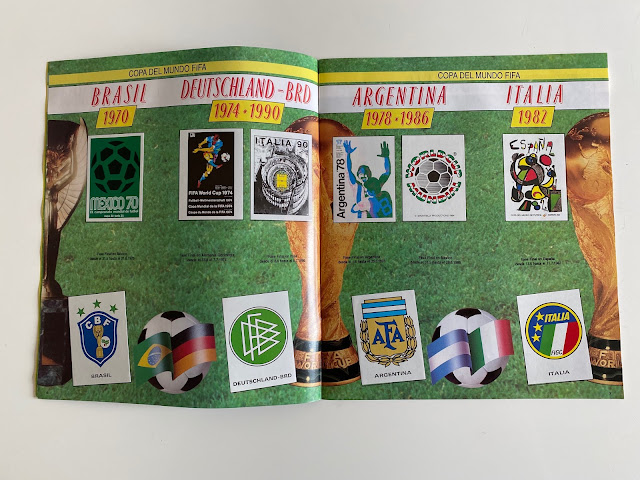 album world cup story sezioni storiche