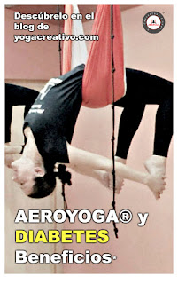aerial yoga, aeroyoga, air yoga, beneficios, diabetes, posturas, puente, salud, yoga