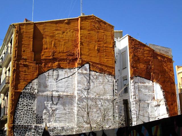 Graffitis del centro de Valencia, marzo 2014