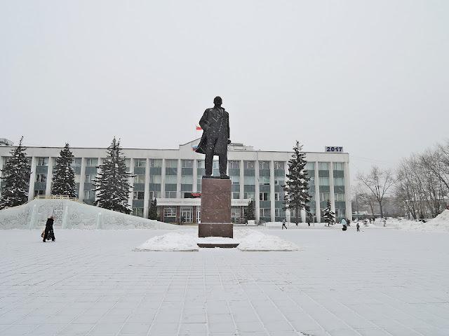 одинцово памятник ленину