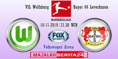 Prediksi Wolfsburg vs Bayer Leverkusen — 10 November 2019