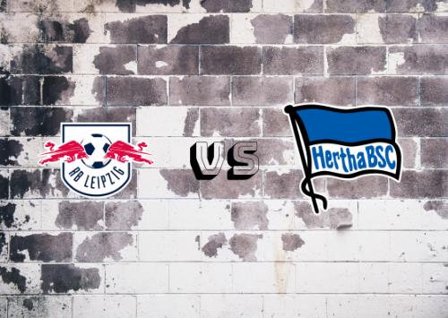 RB Leipzig vs Hertha BSC  Resumen