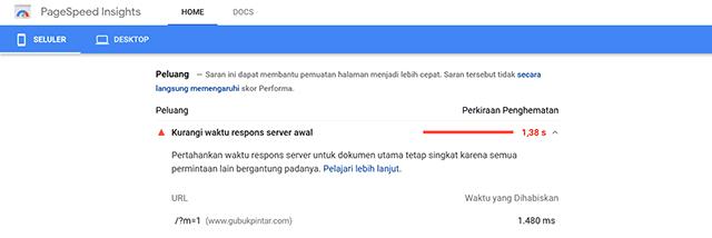 Cara Menghilangkan Kode ?m=0 dan ?m=1 di URL Blogger Untuk Memperbaiki PageSpeed Insight
