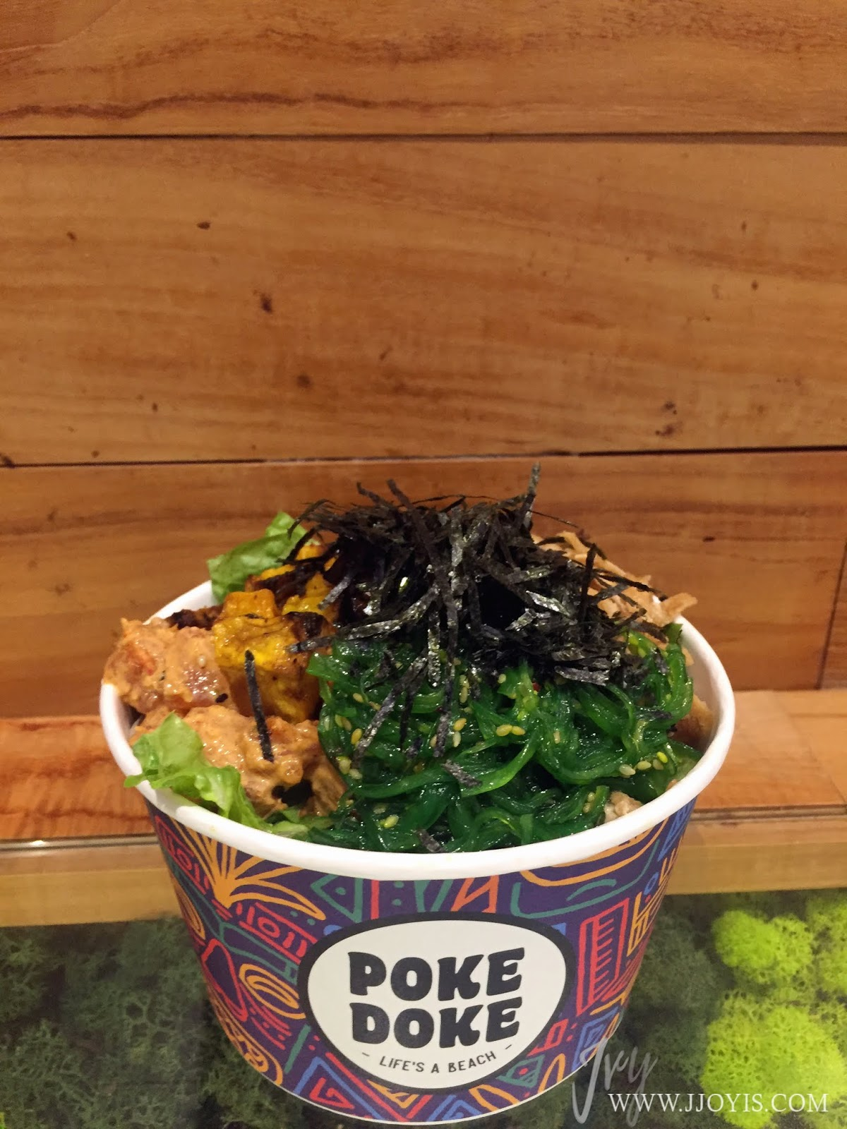 poke doke poke bowl medium millenia walk