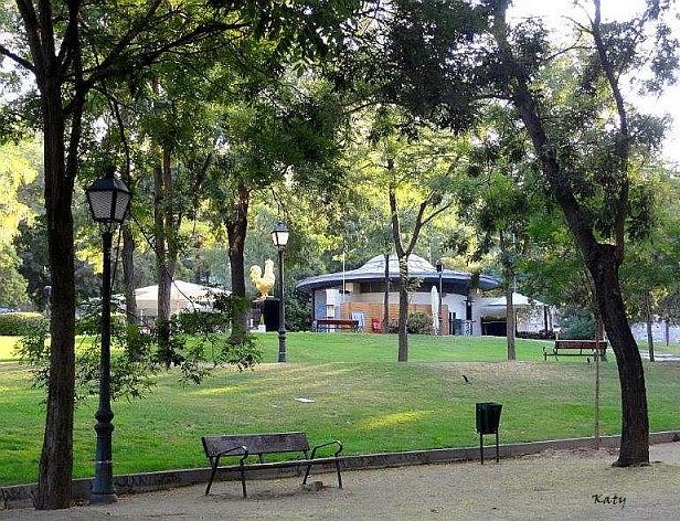 Tocando Otros Palillos Parque De Atenas