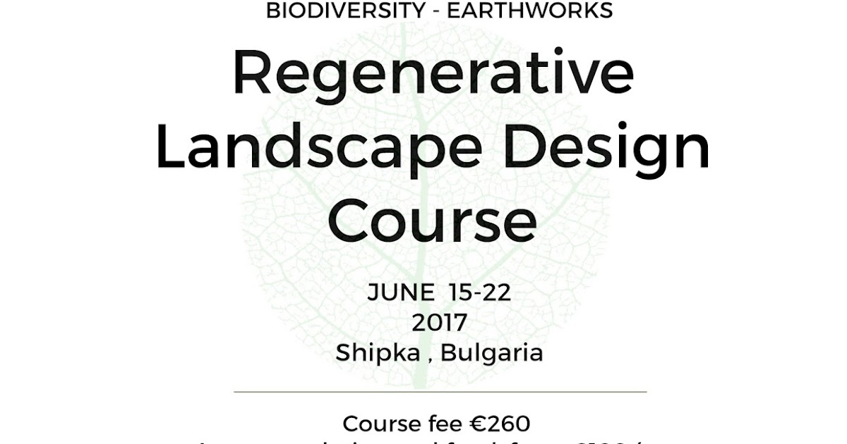 Balkan Ecology Project Preparation for the Regenerative